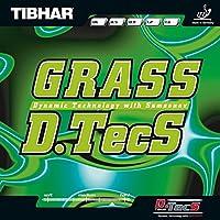 ティバー(TIBHAR) 卓球 ラバー グラスディーテックス ハイテンション粒高 BT018719 黒 1.2