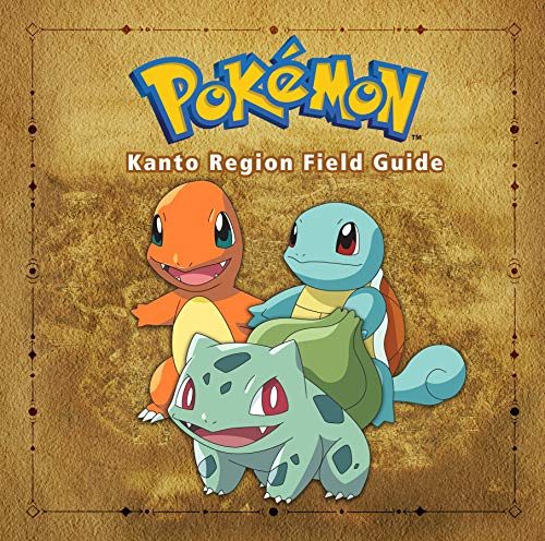 Pokémon Kanto Region Field Guide