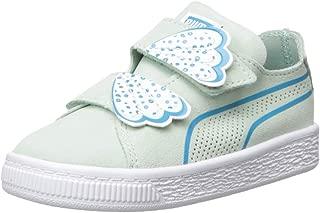 unisex-child Suede Deconstruct Velcro Sneaker