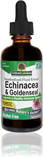 Nature's Answer Enchinacea & Goldseal | Supports a Healthy Immune System | Super Concentrated Pure Extract | Alcohol-Free,...