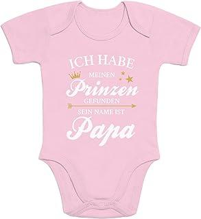 Shirtgeil Ich Habe Meinen Prinzen gefunden Sein Name ist Papa Baby Body Kurzarm-Body
