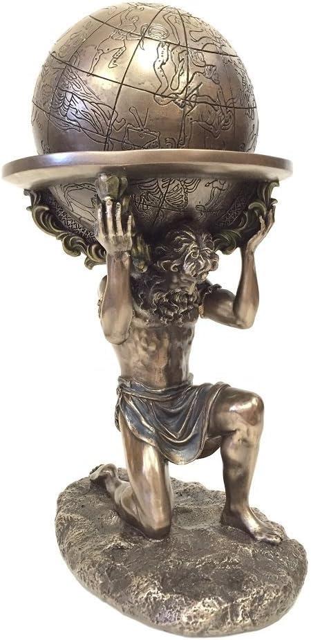 Houston Mall Veronese Design 9 Inch Greek Titan World Spring new work Atlas The Stat Carrying