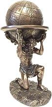 وو برنز یونانی تیتان اطلس حمل مجسمه جهانی