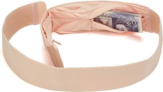 Details about  /Pacsafe Coversafe Secret Waist Band Belt Bag Safety Belt Money Belt Black