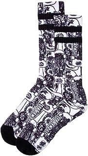 Santa Cruz Kendall Catalog Socks - White/Black