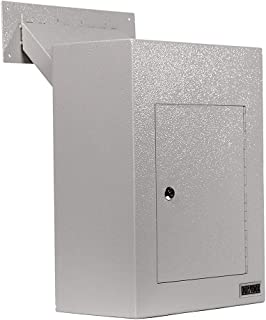 DuraBox D700 Through the Wall Drop Box w/ Adjustable Chute Deposit Safe Mail Box