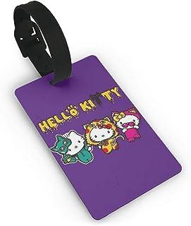Cute Hello Kitty /& Unicorn Luggage Tags Travel Suitcase Baggage Holder Pendant