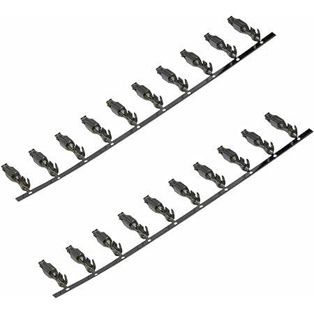 Aerzetix 20 X Pins Pin Weiblich Für Anschluss Elektronik