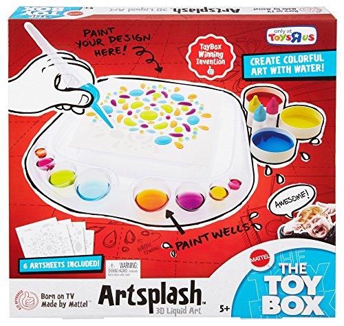 Mattel Artsplash 3D Liquid Art, Toy Box Winning Invention