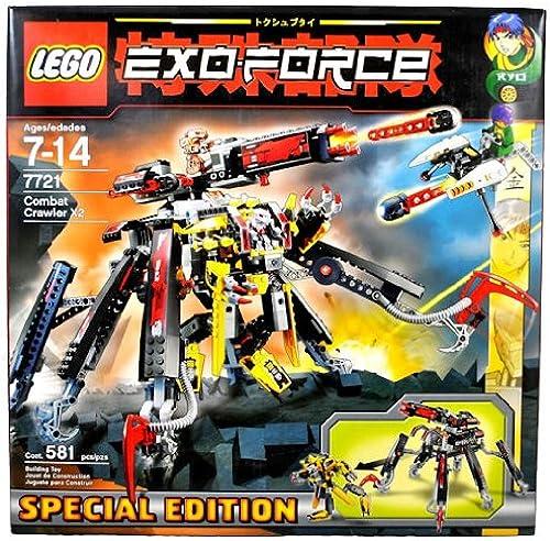 a precios asequibles LEGO LEGO LEGO Exo Force Set Special Edition  7721 Combat Crawler X2  encuentra tu favorito aquí