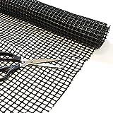 Top Home Solutions Alfombra duradera antideslizante para uso múltiple, capa base de suelo de agarradera, tablero de agarre, 100 cm x 150 cm