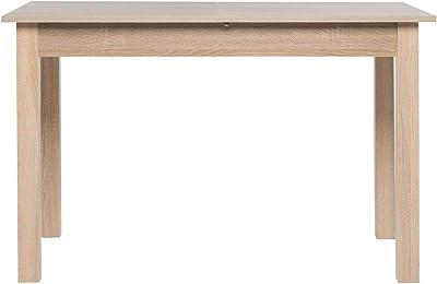 Avanti Trendstore Colima Tavolo Da Pranzo Allungabile Per 40 Cm In Legno Laminato Disponibile In 2 Diversi Colori Ed In 4 Diverse Misure 120 160x76 5x70 Cm Marrone Amazon It Casa E Cucina