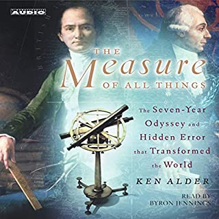 The Measure of All Things audiobook cover art