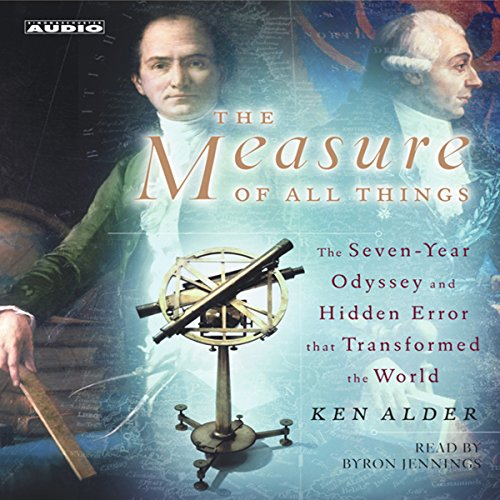 The Measure of All Things  By  cover art