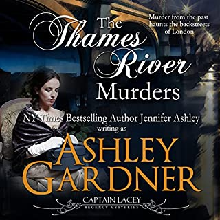 The Thames River Murders audiobook cover art