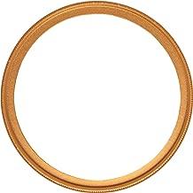 NinoLite UVフィルター 55mm ゴールド色枠 カメラ レンズ 保護 フィルターの上からレンズキャップが取り付け可能な構造