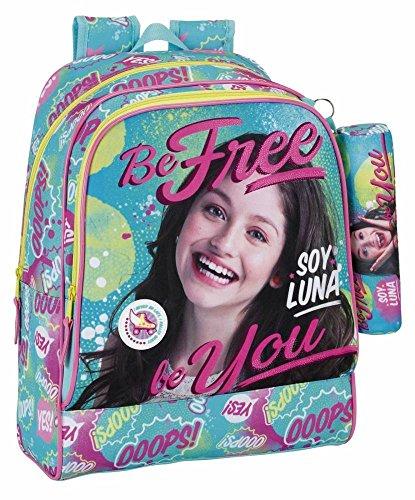 Ich bin Luna 611658538Be Free Day Pack Anpassungsfähig zu wagen, blau/pink