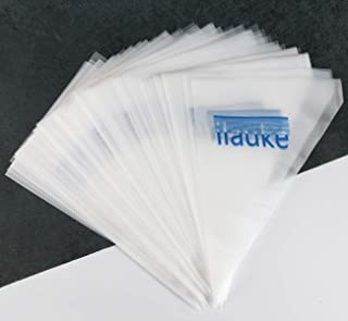 ilauke Thickened 100PCS Pastry Bags Disposable for Cake/Cupcake Decorating Piping Icing Bags 32 x 20 cm