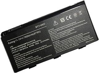 新品互換 MSI S9N-3496200-M47 957-16FXXP-101 BTY-M6D 7800mah 交換用の バッテリー 適用されるFOR MSI GT70 Series GT70 0NC-002US 0NC-008US 0NC-0...