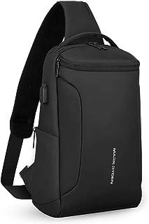 Mark Ryden Sling Bag Crossbody Bolsos Bandolera Hombre, antirobo,Impermeable Mochila, Apto para iPad de 10.5 Pulgadas para Hombres y Mujeres