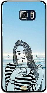 Samsung Note 5 Case Cover Doodle Girl At Beach, Moreau Laurent Premium Phone Covers & Cases Design