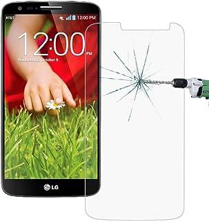 Solid Telefon Skärmskydd 50 PCS för LG G2 mini / D620 0.26mm 9H Ythårdhet 2.5D Explosionssäker härdat glas Film, nr Retail...