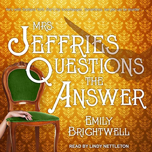 Mrs. Jeffries Questions the Answer audiobook cover art