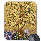 グスタフ・クリムト『 生命の樹 』のマウスパッド(部分):フォトパッド(世界の名画シリーズ)