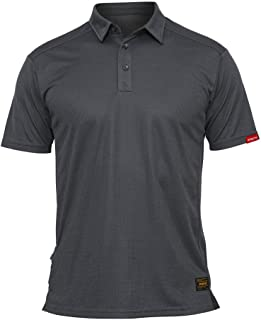 Antarctica Men's Tactical Polo Shirt Short Sleeve Quick Dry Shirt Jersey Military