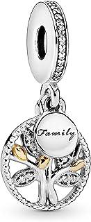 Annmors Christmas Santa Claus Charm fits Pandora Charms Bracelets for Woman-925 Sterling Silver Dangle Pendant Bead,Girl J...