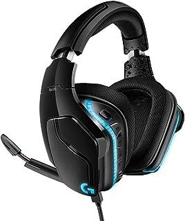 Headset Gamer Logitech G635 7.1 Dolby Surround com RGB LIGHTSYNC e Drivers de Áudio Avançados para PC, PlayStation, Xbox e...
