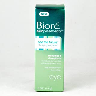 Biore See The Future Fortifying Eye Cream - 0.5 oz
