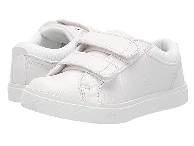 Lacoste Kids Straightset 319 4 (Toddler/Little Kid) (Off-White/Off-White) Kid