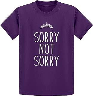 Sorry Not Sorry Kids T-Shirt