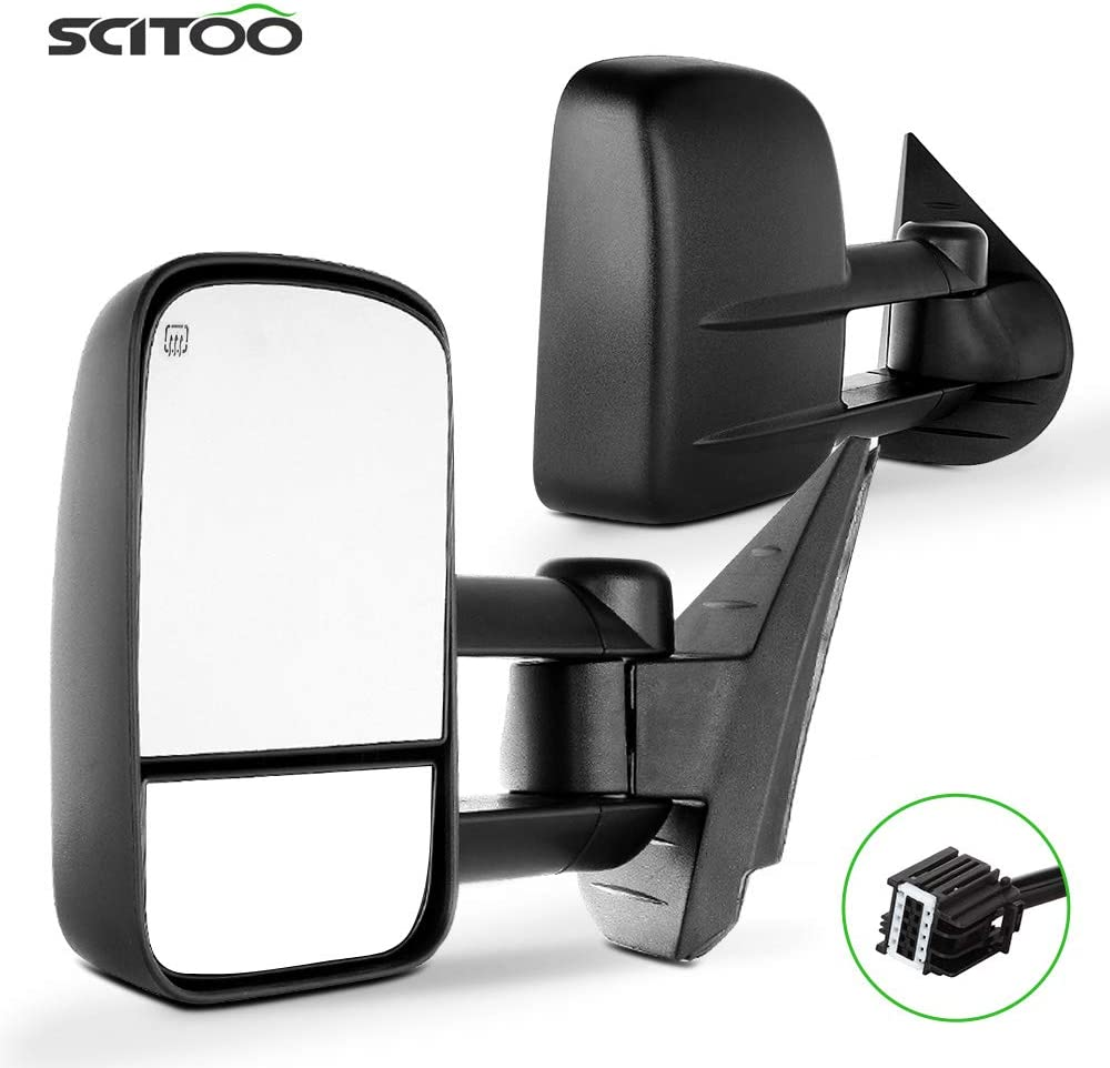 SCITOO Genuine Towing Regular discount Mirrors fit For Chevy GMC Accessories Exterior