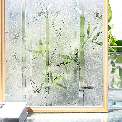 Vinilo para Ventana 3D Fenster Filme Kein Kleber Statische Dekorative Privatsphäre für Glas Selbst-Adhesive Wärme Steuerung Vinyl Aufkleber-60X200