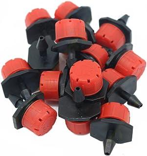 Fangfeen 100pcs Regolabile in plastica emettitore Dripper Micro irrigazione Goccia a Goccia Sprinkler Watering Water Syste...