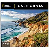 National Geographic California 2021 Wall Calendar