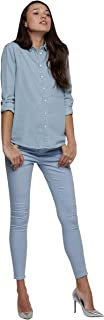 Lee Cooper Shirts For Women, Blue M