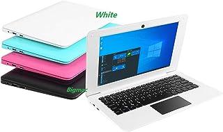 Bigmac Windows 10 Computadora Portátil Mini 10.1 Pulgadas 32GB Ultra Delgada y Ligera Netbook Intel Quad Core CPU PC HDMI ...