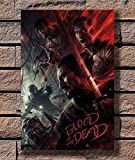 Art Call of Duty Black Ops 4 Blood of The Dead Zombies Poster Hot Gift No Frame (24 x 36)