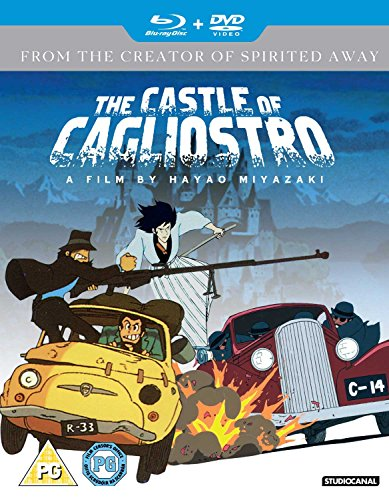 ルパン三世カリオストロの城(英語)Blue ray&DVDコンボ / The castle of cagliostro (English) [Import]