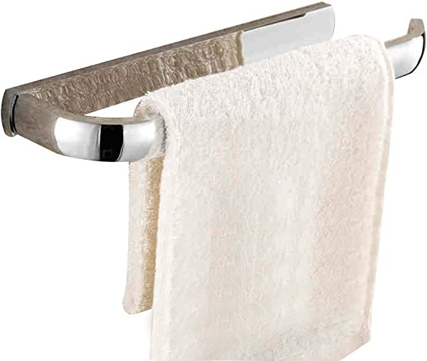雷登 TM 创意壁挂式浴室毛巾环毛巾架铜毛巾架架镀铬