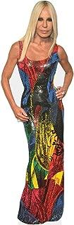 Donatella Versace (Colourful Dress) Life Size Cutout
