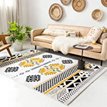"Rugs Living Room Bedroom Bathroom Rug and Mats Sets Flannel 3D Carpet Chair Mats for Carpeted Floors (60x90,23.6x35.4"", D3)"