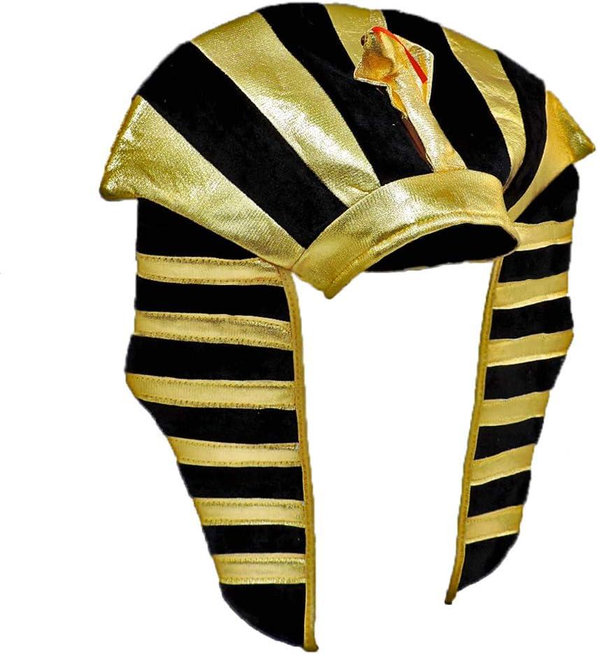 Star Power Gold Lamé Egyptian Pharaoh online shopping TUT Costume Excellence King Headdr