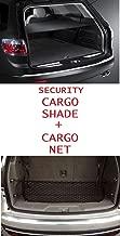 Cargo Security Flip Shade + Cargo Net for GMC ACADIA 2007 2008 2009 2010 2011 2012 2013 2014 2015 2016 - Ebony NEW