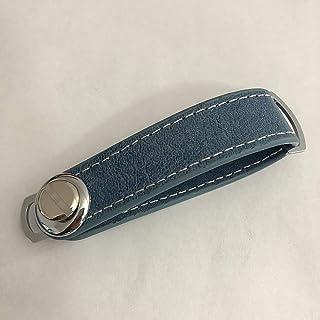 Keyfob for Men Women Leather Car Key Bag Case Wallet Key Holder Chain Key Wallet Collector Auto Accessories YJXUSHYQ (Colo...
