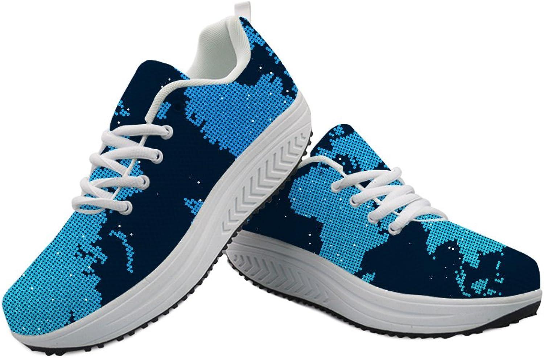 coloranimal Stylish Women Floral Comfortable Walking shoes