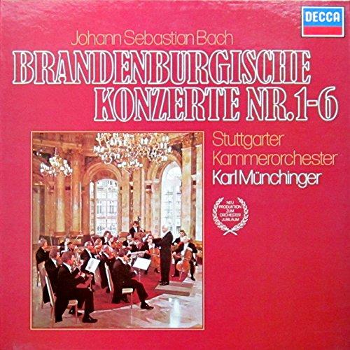 Bach: Brandenburgische Konzerte Nr. 1-6 [Vinyl Schallplatte] [2 LP Box-Set]